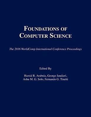 Proceedings of the International Conference on Foundations of Computer...