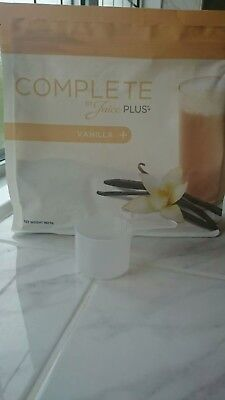 brand new juice plus vanilla shake 562.5g bb from 11/2019 free scoop if required