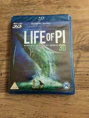 Life Of Pi...3D..blu Ray........new S/S