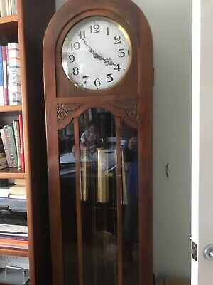 Genuine antique Long-case /grandmother style clock made by Norland of London
