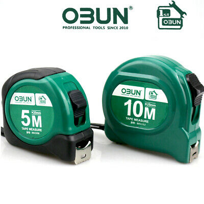 2pc 5m + 10m BLADE ARMOUR MAGNETIC TAPE MEASURE 25mm METRIC,