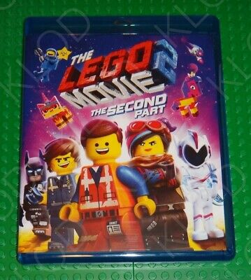 The Lego Movie 2 the second part BLU-RAY ONLY Kids go free Legoland in hand