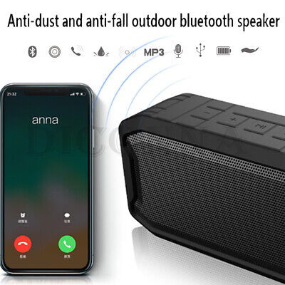 Loud Bluetooth Speaker Rechargeable Stereo System Portable Wireless Boombox