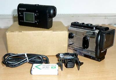 Sony HDR-AS50 Action Video Camera with 60m Waterproof Housing SteadyShot Wi-Fi