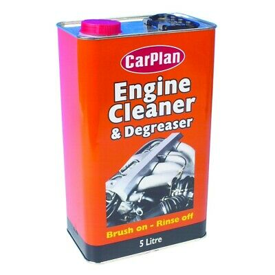 Carplan TETECL005 5L Engine Cleaner And Degreaser 5 Litre Brush On Rinse Off