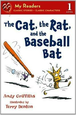 The Cat, the Rat, and the Baseball Bat by Andy Griffiths (Paperback /...