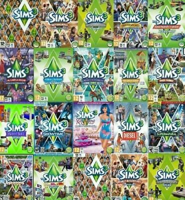 The Sims 3 [PC/MAC] [ALL EXPANSIONS] Full Software DOWNLOAD KEYS 🎮