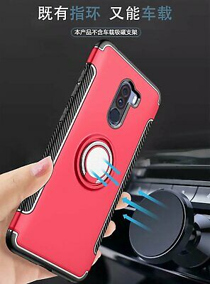 Hybrid Armor Ring Case For Xiaomi Redmi 7 NOTE 7 Shockproof Magnetic Stand Cover