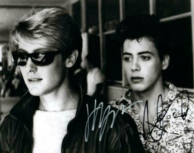 James Spader Robert Downey Jr signed 8x10 picture Photo autographed with COA