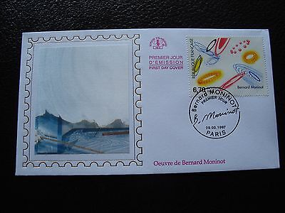 France - First Day Cover FDC 29/3/1997 (Artwork of Bernard Moninot) (B7) French