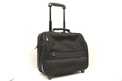 Briggs & Riley Rolling Travel cabin tote bag wheeled carry on baseline black