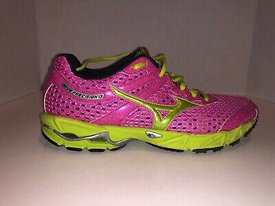 466ccff35644 Mizuno Wave Precision 13 Shoes Womens Athletic Running Cross Training Size  8.5