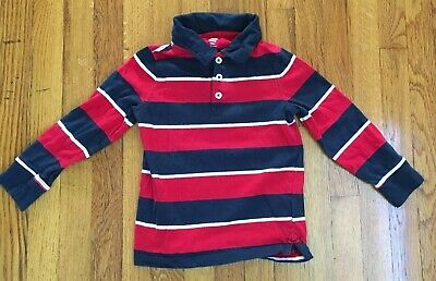 Toddler Boy Old Navy Long Sleeve Polo Shirt Size 4T