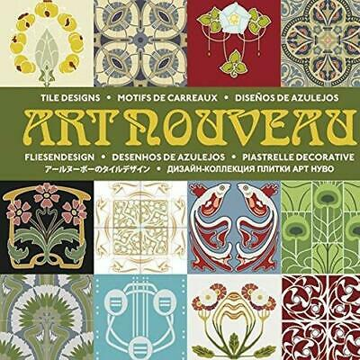 Art Nouveau Tile Designs by Pepin Press