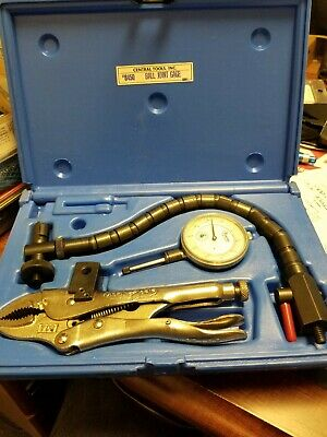 Central Tools 6450 Ball Joint Gage In Case