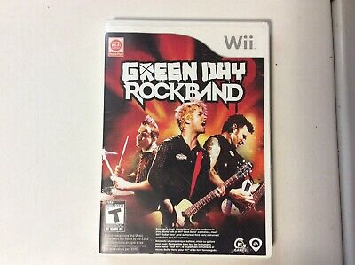 Rock Band: Green Day - Nintendo Wii game Complete RockBand T Teen