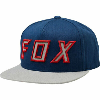 low priced 46055 ea5a8 Fox Racing Men s Posessed Snapback Hat Navy Gray Headwear Baseball Cap