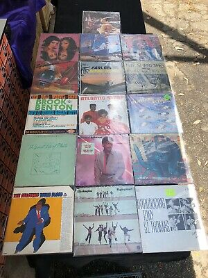 Lot Of (16) Soul / Funk Lp Vinyl Records Various Titles One Rare Signed