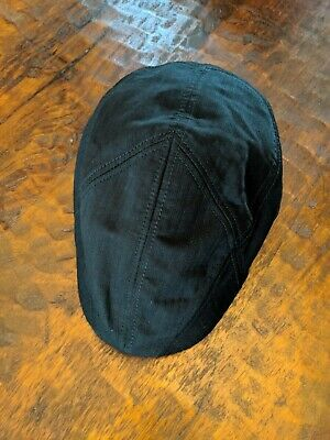 819449bf0f006 Goorin Bros. Burbank Cotton Ivy Flat Cap in Black RARE size XXL- SOLD OUT