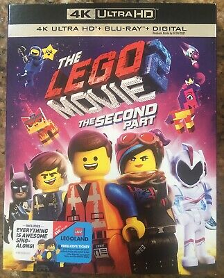 The Lego Movie 2 The Second Part (4K UltraHD,Blu-ray,2019)
