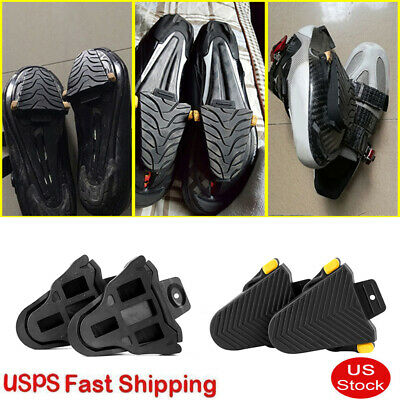 62b53e27599 ND  1Pair Bike Pedal Protection Rubber Cleat Cover for Shimano SPD-SL Cleats  U