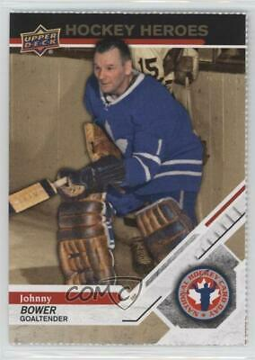 2019 Upper Deck National Hockey Card Day Canada Perforated #CAN-15 Johnny Bower