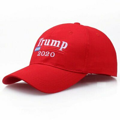 MAGA Donald Trump 2020 Keep Make America Great Election Cap Red Embroidered Hat