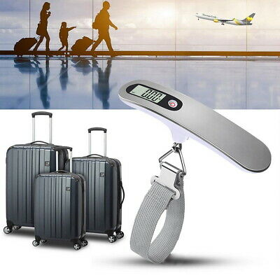 110lb/50KG Portable Travel LCD Digital Hanging Luggage Scale Weighing Scale