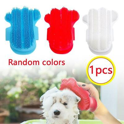 Rubber Dog Grooming Brush Cleaning Massage Comb Glove Tool for Small Large Dogs