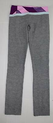 be04cf92f8373 IVIVVA Rhythmic Purple Grey Heathered Pink Leggings Pants Girls Lululemon 12