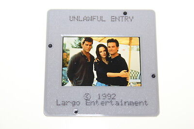 UNLAWFUL ENTRY - press kit slide Kurt Russell Ray Liotta Madeleine Stowe