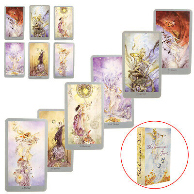 78pcs Shadowscapes Tarot Cards Board For Party Playing Game Cards Full Version