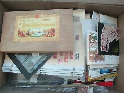 ESTATE: World in box unchecked unsorted as received heaps so much here   (b547)