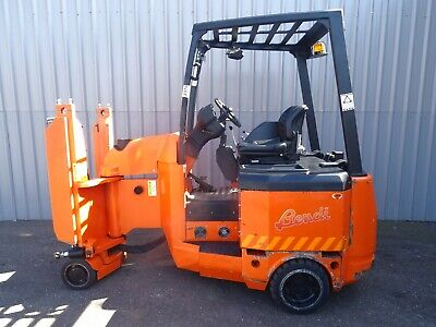 BENDI B420. 2000Kg. USED ARTICULATED ELECTRIC FORKLIFT TRUCK. (#2376)