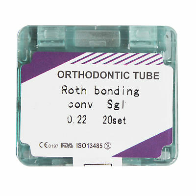 NEW Dental Orthodontic Bonding Buccal Tube Convertible Roth/MBT 0.022 1st Molar