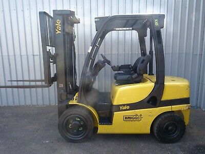 YALE GDP30VX. 4915mm LIFT. USED DIESEL FORKLIFT TRUCK. (#2423)