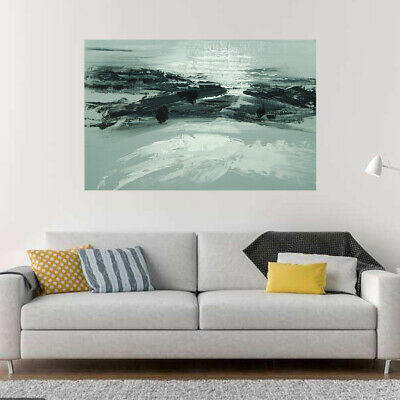 *Abstract Landscape* Hand Painted Canvas Oil Painting Modern Home Decor Framed