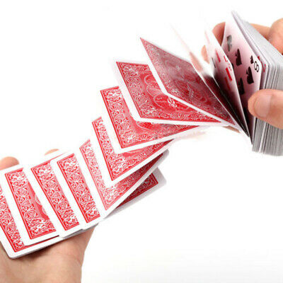 Magic Electric Deck of Cards Magician Prank Trick Close up Stage Poker Prop AU