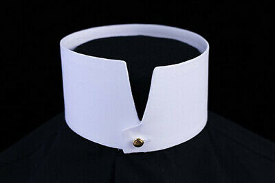 "HIGH Imperial Stiff Detachable Shirt Collar 2 1/2"" High"