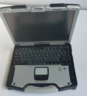 Panasonic toughbook CF-29 Rugged laptop 1.2GHz 512MB RAM, No HDD/Caddy