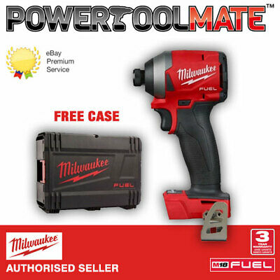 """Milwaukee M18FID2-0 Fuel 1/4"""" Impact Driver - Bare Unit with Case"""