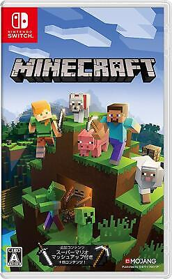 Minecraft Nintendo Switch New Japan import
