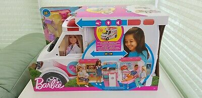 Barbie Care Clinic Vehicle Play Set. New rrp £55.00
