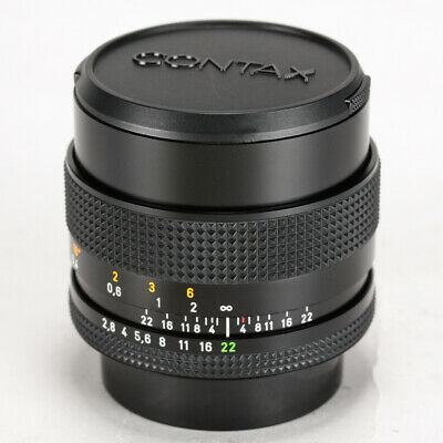Contax Carl Zeiss T* Distagon 28mm F/2.8 MMJ Lens for CY Mount << Excellent >>