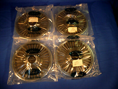 Set of 4 NOS OEM 1980-82 Thunderbird Hub Caps