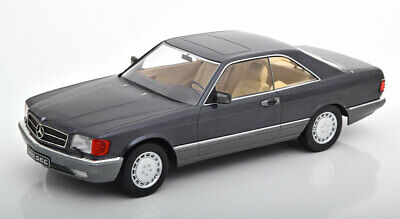 1:18 KK-Scale Mercedes 560 SEC C126 1985 anthracit