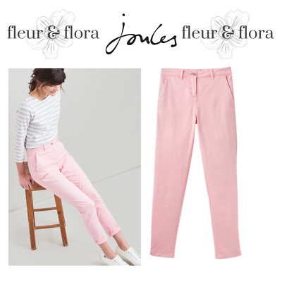 Joules | Hesford Chinos | Pale Pink | FREE P&P | RRP £49.95