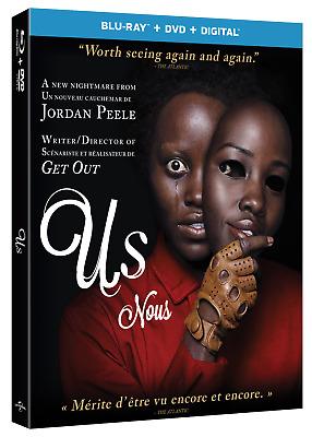 US (2019) [Blu-ray+DVD+Digital] New !! Pre-order for June 18 (Free Shipping)