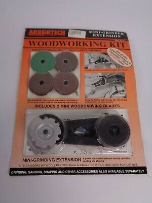 ARBORTECH Mini Grinder Extension Woodworking Kit - collar size 38-44mm-unused