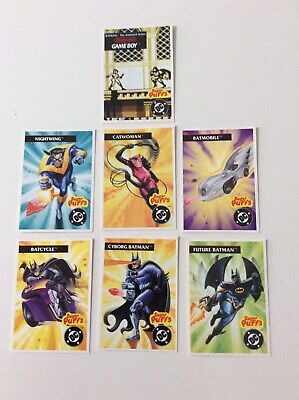 Kenner Sugar Puffs Legends Of Batman Cards